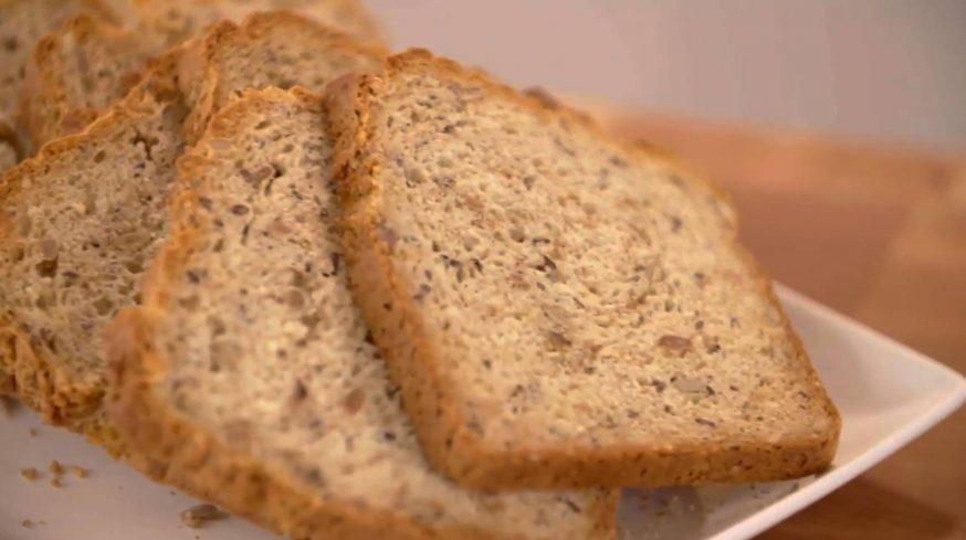 receta de pan rápido de alcaravea
